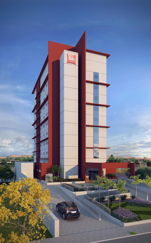 Projetos hot is hotel ibis bauru hoch arquitetura for Appart hotel ibis